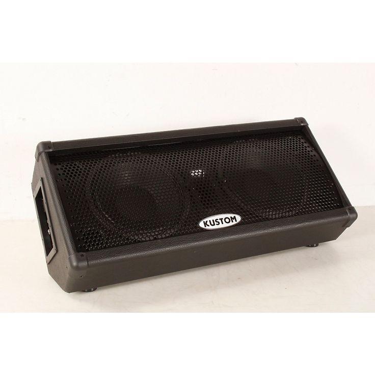 "Kustom KPC210MP Dual 10"" Powered Monitor Speaker Regular 888366068083"
