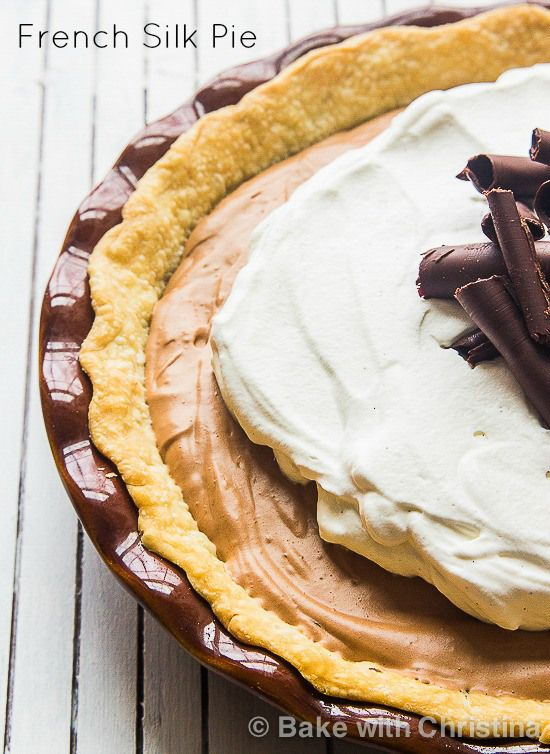 French Silk Pie With Graham Cracker Crust, Espresso And Kahlua Recipe ...
