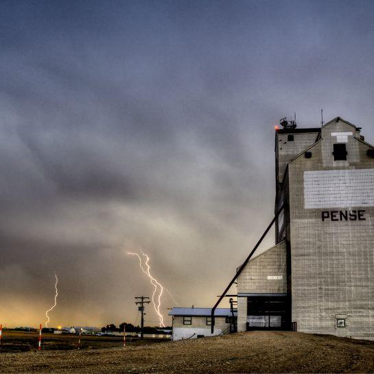 Lightning Saskatchewan