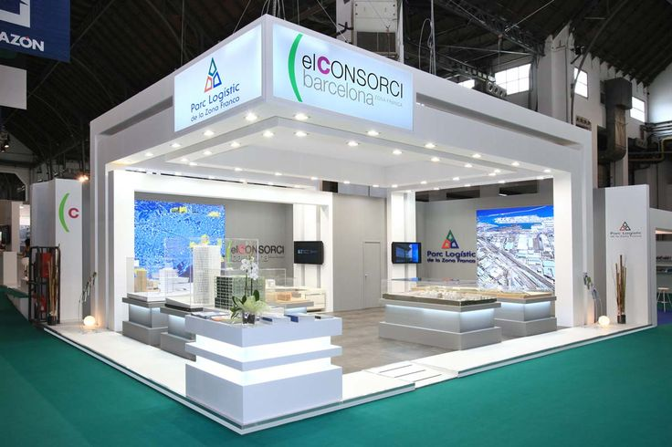 Open Exhibition Stand : Stand design open with roof exhibition