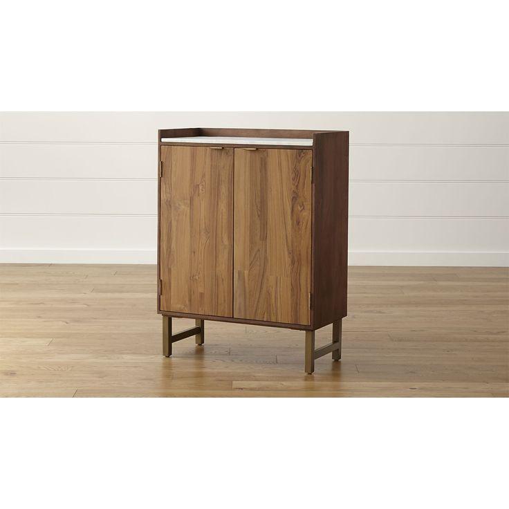 Cantina bar cabinet - Crate and barrel espana ...