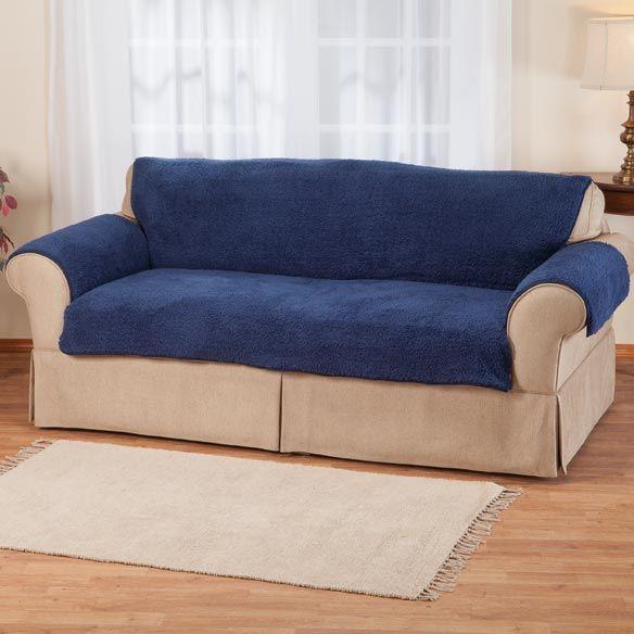 Sofa Slipcovers Sherpa Sofa Protector by OakRidge Comforts