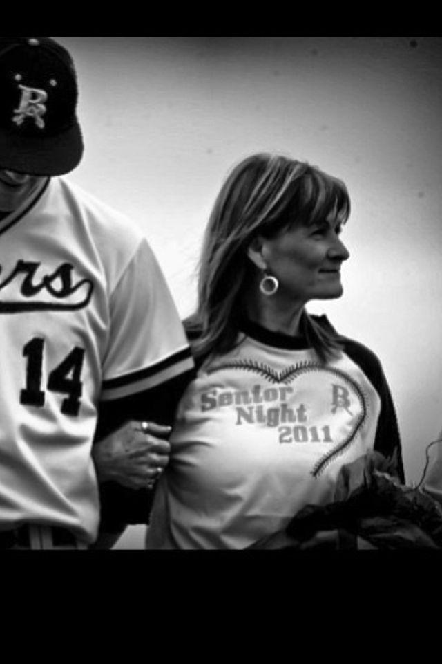 Mom jersey for senior night