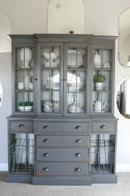 grey china cabinet 25 best ideas about corner china cabinets on 16083