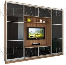 Резултат с изображение за шкаф купе телевизор