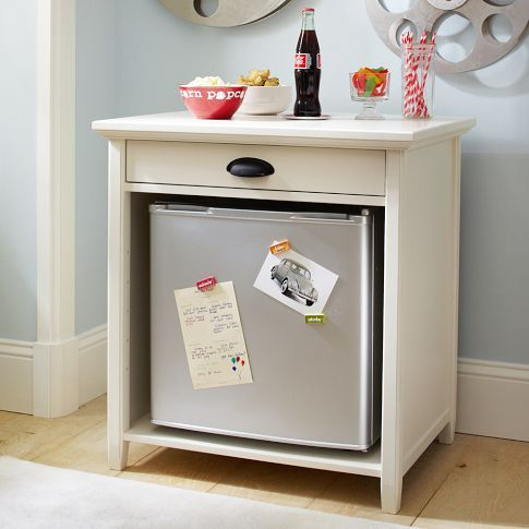 If this wasn't backordered, I would have it in my bedroom (in expresso) as an end table.  I have the fridge.