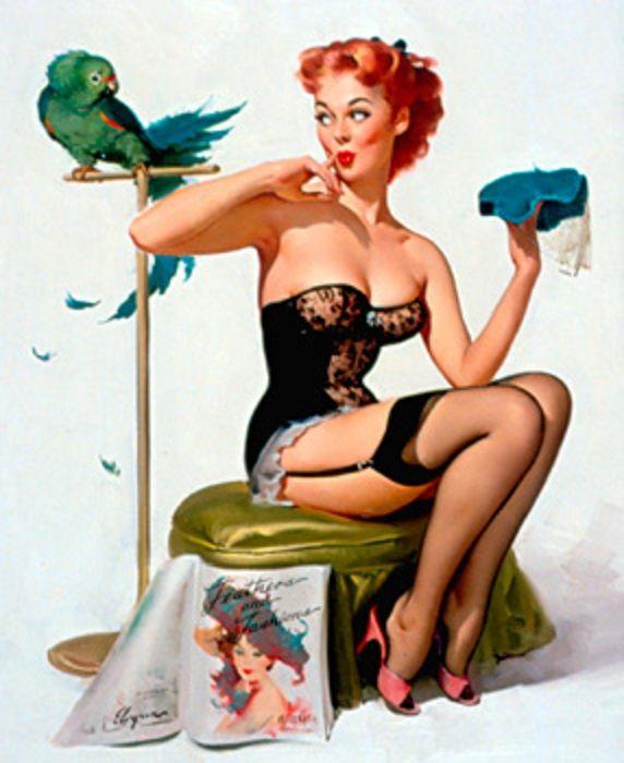 2019 Vintage Pinup Girl Gil Elvgren Hand Painted Art Oil: 25 Best Images About Vintage Pin Ups On Pinterest