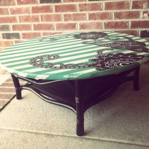 Refurbished Coffee Table By Yankee Doodle Designs