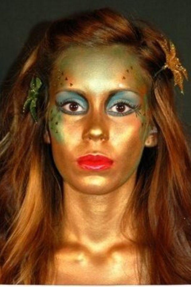 fantasy fairy makeup i dont like the eye makeup but i love how - Fairy Halloween Makeup Ideas