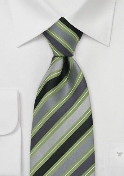 Another green/grey tie