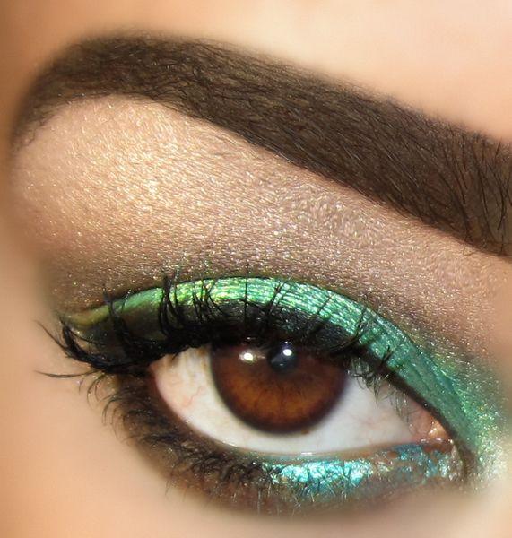 Illusden: Dolls Eye, Tutorials Eye, Eye Mascaras, Nyx Dolls, Loo Eyeshadows, Eyeshadows Mac, Press Eyeshadows, Eyeshadows Midori, Green Eye