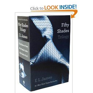 Fifty Shades Trilogy: The only true romances I've read but it contained very engaging characters and plot twists.
