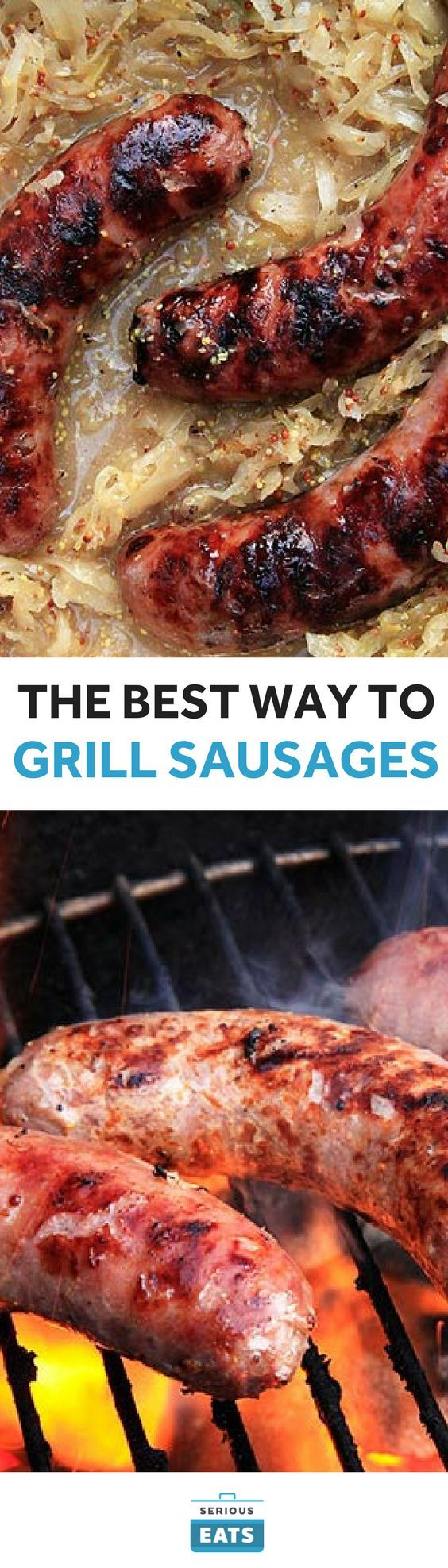 You start with great sausages, and you don't mess 'em up. That's easier said than done.