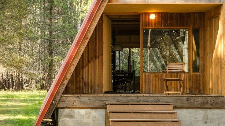 This A-frame Cabin Rental Near Yosemite is Almost Impossible to Book