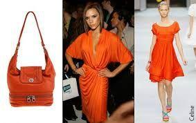 Tendance orange mécanique chez les fashionista