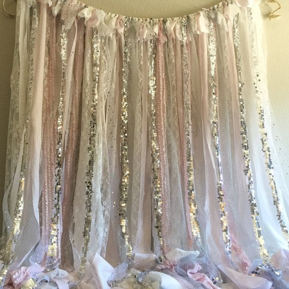 Pink Silver Winter Onederland Party Birthday by WithLOVEeventdecor