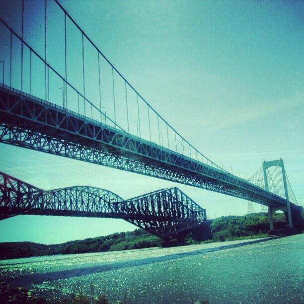 Pont de Quebec #travel #quebeccity #quebec #canada