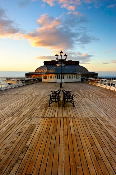 Cromer Pier is a Grade II listed seaside pier in the civil parish of Cromer on the north coast of the English county of Norfolk, north of the city of Norwich in the United Kingdom. Wikipedia