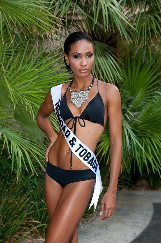 Miss trinidad tobago miss jamaica universe