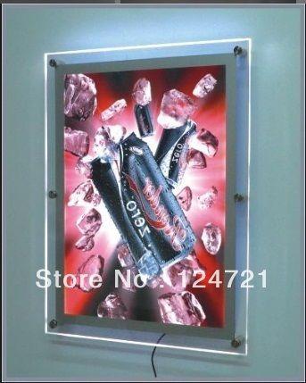 Акриловая доска меню, дисплей вывеска модуль led плакат lightbox 27 дюйм(ов) X 40 дюйм(ов)