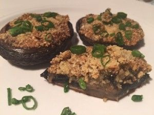 Baked Mushrooms with Garlic, Thyme and Oregano