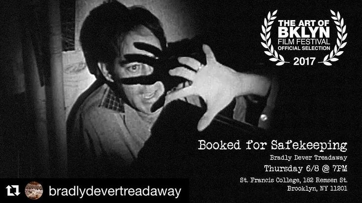 """#Repost @bradlydevertreadaway (@get_repost)  Join me Thursday June 8 at 7pm for the next screening of """"Booked for Safekeeping"""" at the Art of Brooklyn Film Festival St. Francis College. #artofbrooklyn #artofbrooklynfilmfest #artofbrooklynfilmfestival #neworleans #history #archivalinterventions #domesticritual #aobff17Original photos posted by The Art of Bklyn Film Festival aobff.org"""