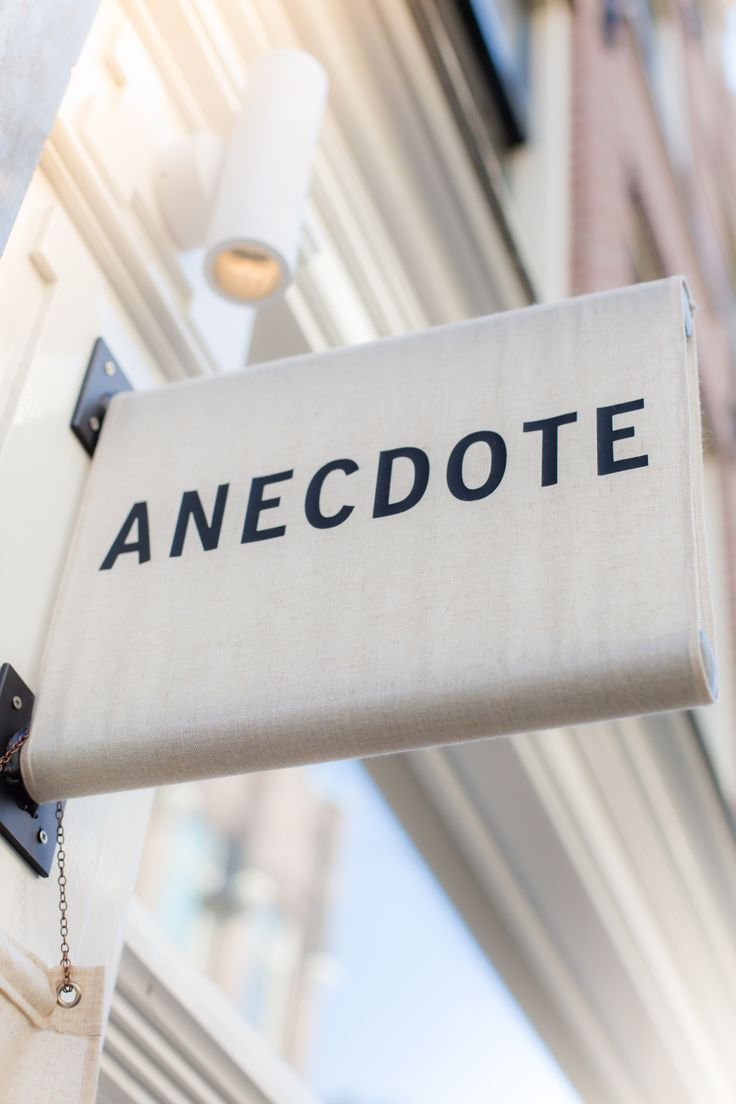 Anecdote boutique, Wolvenstraat 15, Amsterdam  www.anecdote.nl