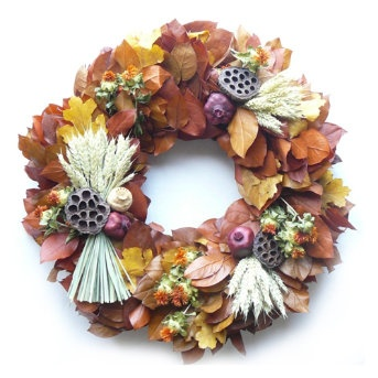 Autumn Wreath. Great Colors.Indoor Decor, Autumn Decor, Autumn Wreaths