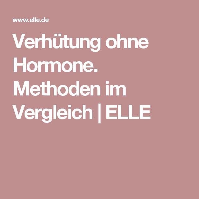 Verhütung ohne Hormone. Methoden im Vergleich | ELLE