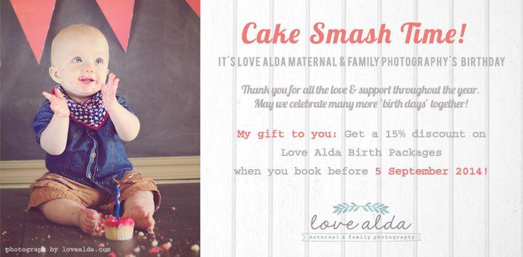 Love-Alda-Cake-Smash Love Alda Maternal & Family photography birthday special www.lovealda.com Cape Town South Africa