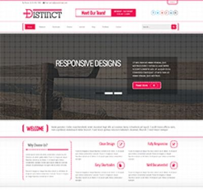 http://templatemesh.com/joomla-templates/distinct  Distinct - Responsive Business Joomla 3 Templates is a high quality, simple, flat and clean template which build by Helix Framework II, also used lot's of CSS3 effect with all modern browser support, you can use one template to different website, Because it's have 10+ preset with lot's of admin customization features so your website must be unique design. You can use this template for any kind of portfolio site, company, software firm, blog,
