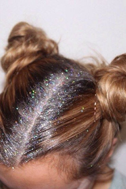 Glitter Roots Hair Trend - Music Festival Hairstyles | Teen Vogue