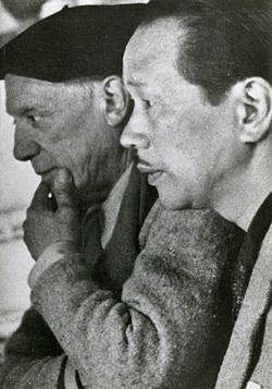 岡本太郎とパブロ・ピカソ