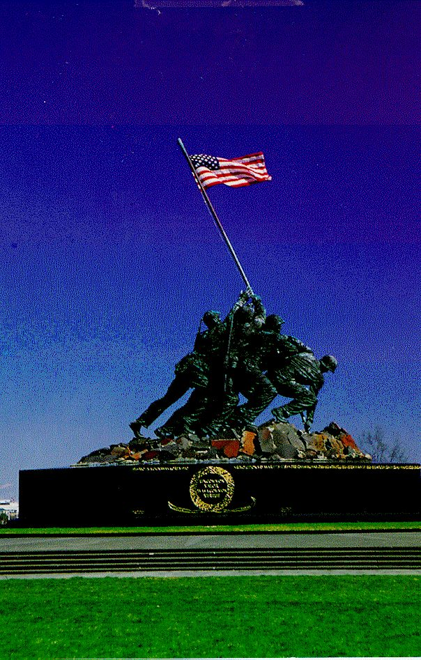 Iwo Jima Statue & Iwo Jima Memorial