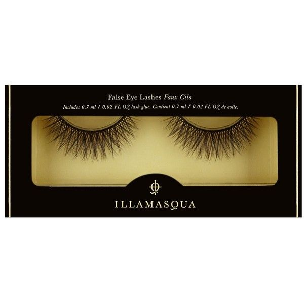 False Eye Lashes No.14 | Handmade & Cruelty-Free | Illamasqua (€14) ❤ liked on Polyvore featuring beauty products, makeup, eye makeup, false eyelashes and illamasqua