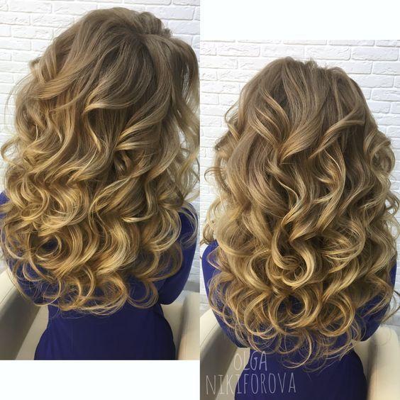 Coafuri Par Lung Cu Bucle Hair In 2019 Hair Styles