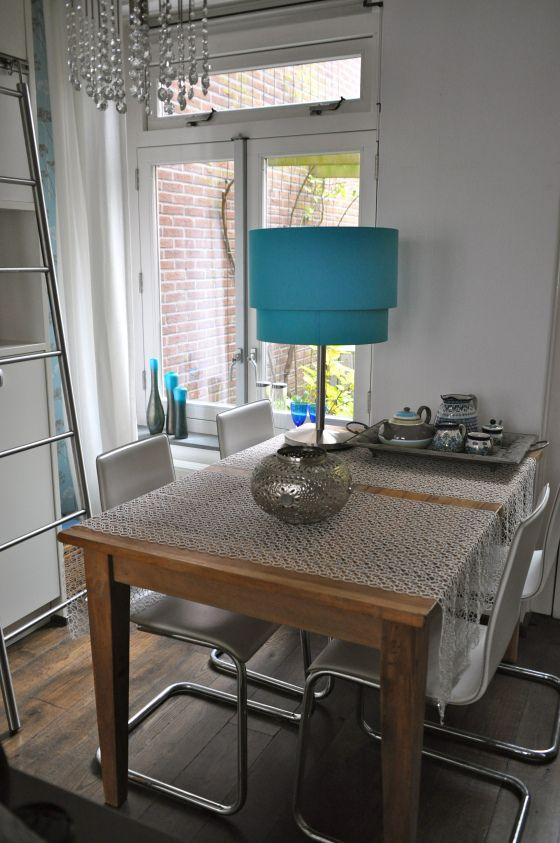 keukentafel in keuken Vleuten na STIJLIDEE interieuradvies  Stylist ...
