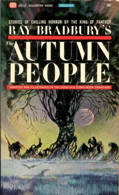 Cover for The Autumn People (Ballantine Books, 1965 series) #U2141