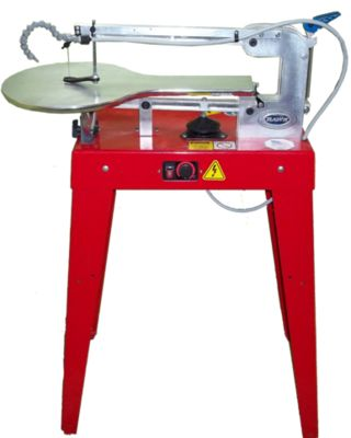 I have a model from the 80s, and it works great. I've never had a pin-less, bottom feeding machine before, so there was a learning curve. But I love my machine! The-Hawk-Scroll-Saw
