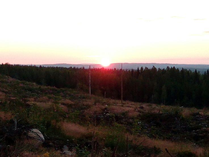 Tahko MTB 2016, auringonnousu