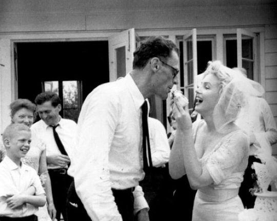 Marilyn Monroe & Arthur Miller Wed