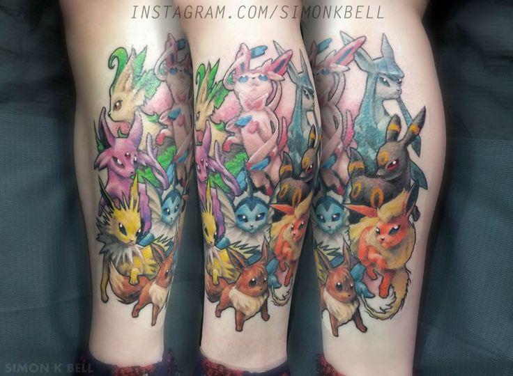 eevee tattoo - photo #16