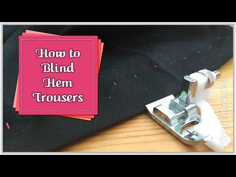 How to Sew Buttonholes for Beginners :: by Babs Rudlin at Fiery Phoenix - YouTube
