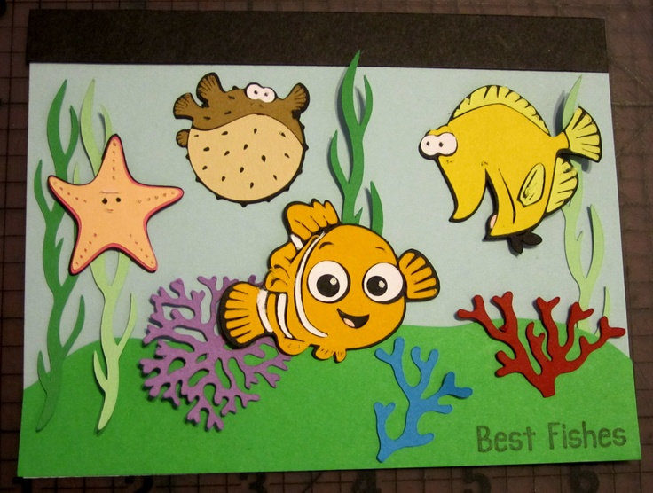 17 Best images about birthday – Finding Nemo Birthday Cards