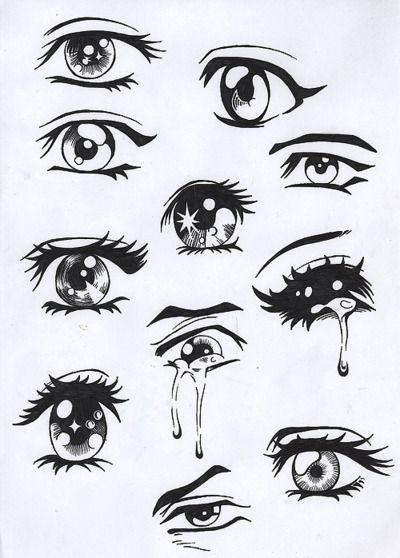 Types de dessins d'yeux