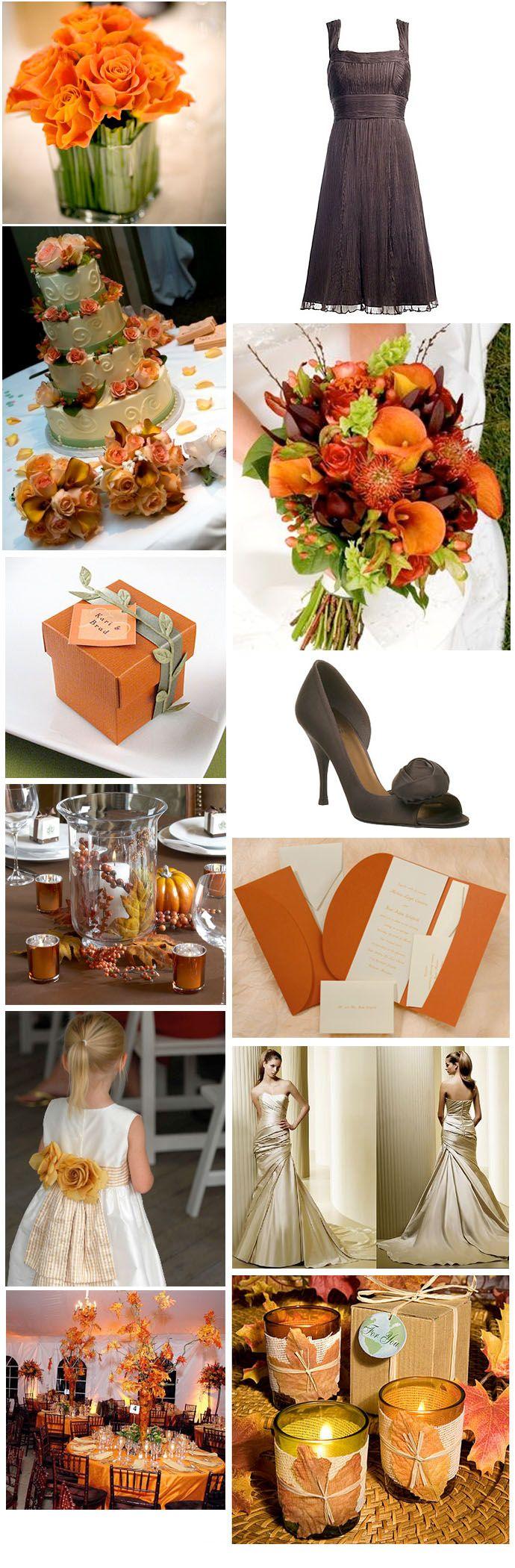 193 best fall wedding flowers images on pinterest for Wedding themes for september
