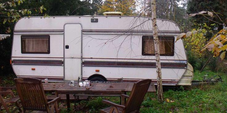 Wohnwagen Hobby Prestige 535, Baujahr 1985