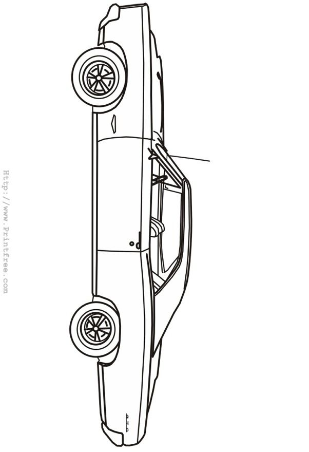 mid sixties gto outline image
