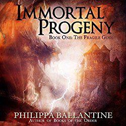 New #audiobook from Philippa Ballantine. Monsters. Gods. Fragile humanity inbetween. #readbytheauthor