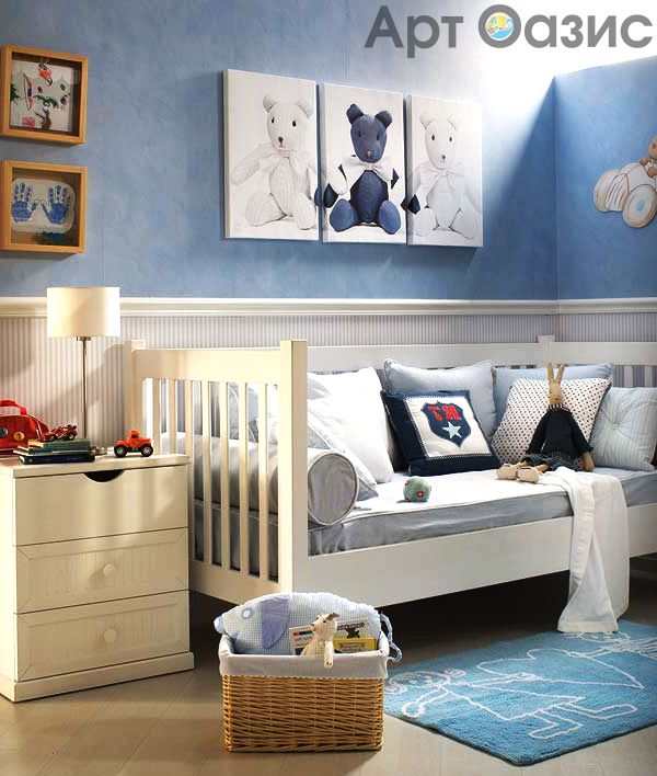 Детская комната – это маленький мир Вашего любимого ребёнка, его личное пространство. Порой она включает в себя не только спальное место, но и игровой уголок или место для занятий. Как же обустроить эту комнату так, чтобы малыш чувствовал себя в ней комфортно? Ведь именно в детской происходят самые важные для ребенка события. Всё очень просто! Модульные картины пастельных тонов легко обеспечат уют и очарование комнате, сохранив при это её функциональное назначение и создав для ребёнка особую…